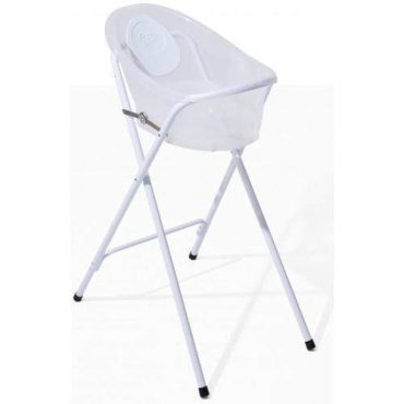 حامل iFam - Comfy Baby Bath Standing Clear - رمادي