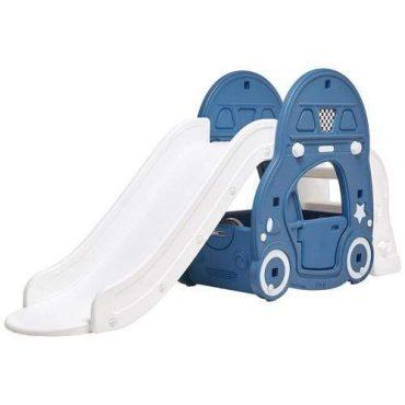 زحليقة iFam - REFINE KAKA ROOF-CAR SLIDE - DEEP BLUE + MAT