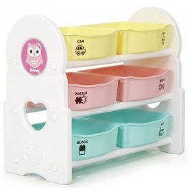 منظم الألعاب iFam - BRIRING 3 Shelves Toy Organizer Mint