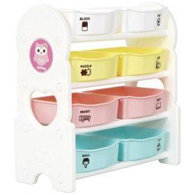 منظم الألعاب iFam - Briring 4 Shelves Toy Organizers Mint