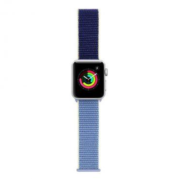 حزام ساعة آبل 42/44 ملم من iGuard – أزرق فاتح