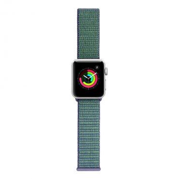 حزام ساعة آبل 42/44 ملم من Porodo - أخضر/أزرق
