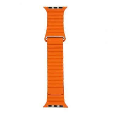 حزام ساعة آبل 42/44 ملم من Porodo - برتقالي