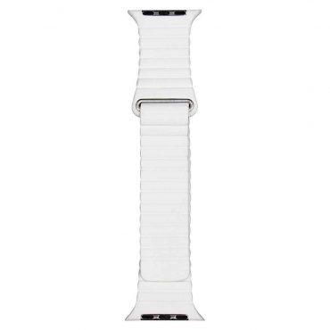 حزام ساعة آبل 42/44 ملم من Porodo - أبيض