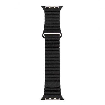 حزام ساعة آبل 42/44 ملم من Porodo - أسود