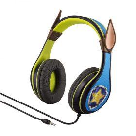 سماعات رأس للأطفال Chase مع 3 أوضاع للصوت iHOME – أزرق/أخضر
