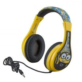 سماعة رأس سلكية للأطفال KIDdesigns - Minions The Rise of Gru Wired Headphones