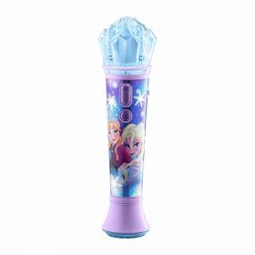 لعبة ميكروفون Frozen المحمول للأطفال KIDdesigns - Disney Frozen 2 Sing Along Karaoke Microphone for Kids