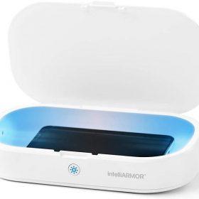 معقم للهواتف الذكية  intelliARMOR Universal LED UVC Sterilizer -أبيض