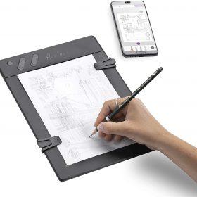 تابلت للرسم بالقلم الرصاص مع ورق iskn Repaper - Pencil & Paper Graphic Tablet with 8192 Pressure Levels