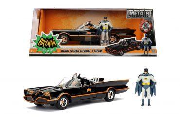 لعبة سيارة Jada - Batman 1966 Classic Batmobile 1:24
