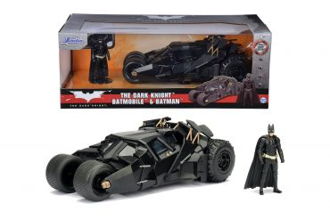 لعبة سيارة Jada - Batman The Dark Knight Batmobile 1:24