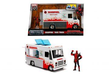 لعبة شاحنة Jada - Marvel Deadpool Foodtruck 1:24