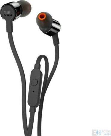 سماعات رأس ستيريو t210 من jbl - أسود