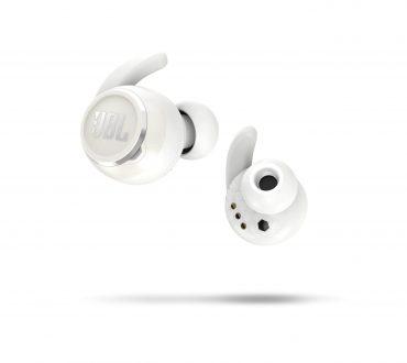 سماعة لاسلكية JBL Reflect Mini NC True Wireless In-Ear Noise Cancelling Sport Headphones - White