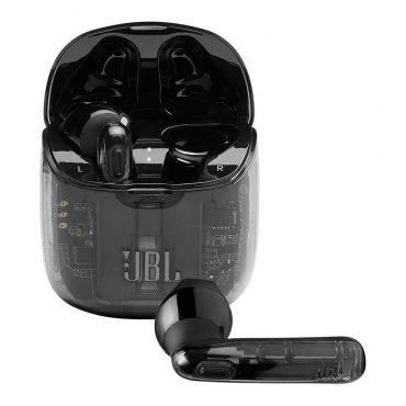 سماعات رأس لاسلكية  JBL T225 True Wireless Earbud Headphones - Ghost Black