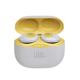 سماعة رأس لاسلكية t120tws من jbl - أصفر