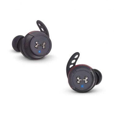 سماعات رأس لاسلكية Flash True/ UA من jbl - أسود