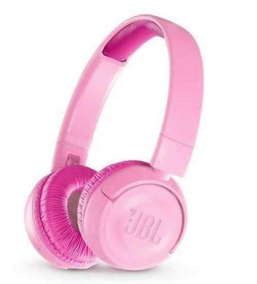 سماعات رأس لاسلكية للأطفال jr300bt من jbl - وردي