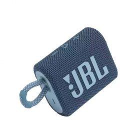 سبيكر لاسلكي  JBL GO 3 Portable Waterproof Wireless Speaker - Blue