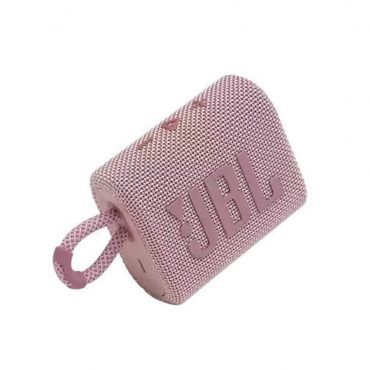 سبيكر لاسلكي JBL GO 3 Portable Waterproof Wireless Speaker - Pink