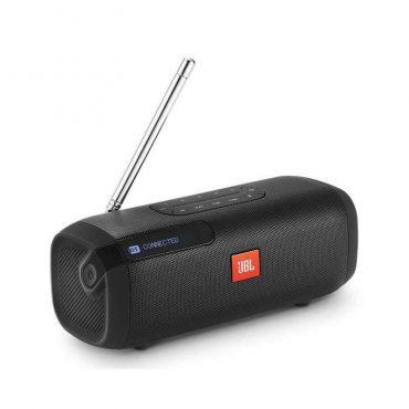 مكبر صوت بلوتوث محمول tuner مع راديو fm من jbl - أسود