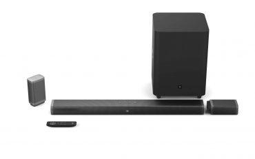 مكبر صوت لاسلكي موديل 5.1 من  jbl - أسود