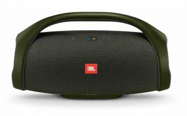 مكبر صوت بلوتوث محمول boombox من jbl - أخضر