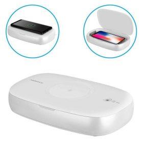 جهاز تعقيم بالأشعة فوق البنفسجية UV مع شحن لاسلكي - Momax