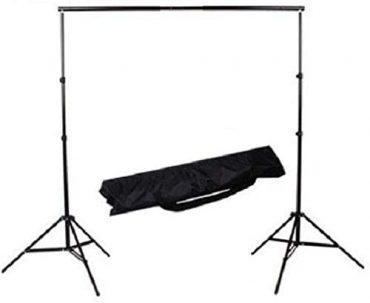 حامل خلفية التصوير الفوتوغرافي 2m * 2m مع حقيبة حمل