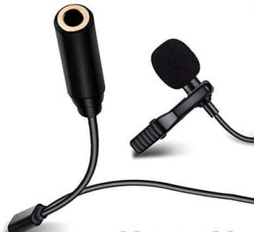 ميكرفون Blueland Lavalier microphone with one side connect earphone
