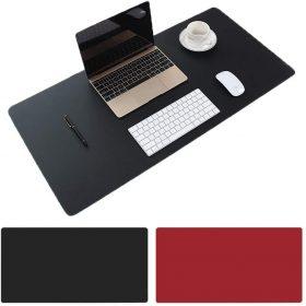 لوحة ماوس Large Desk Pad ثنائية الجانب من البولي يوريثين المقاوم للمياه