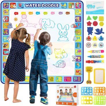 لوح الرسم والتلوين Tobeape Aqua Magic Doodle Mat
