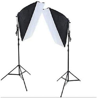 طقم أدوات الإضاءة للتصوير الفوتوغرافي - 4 قطع