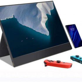 شاشة  wowatt Portable Monitor Full HD المحمولة