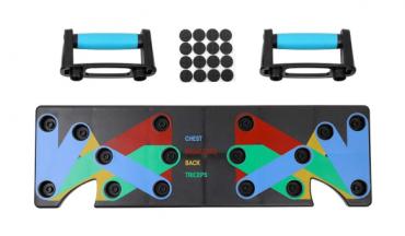 لوح الرياضة المنزلي متعدد الوظائف Festnight - Household Multifunction Push Up Rack Board Fitness