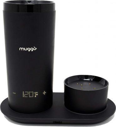 كوب التسخين الإلكترونيMuggo - 12 oz Temperature Control Mug with 3 hour Battery Life