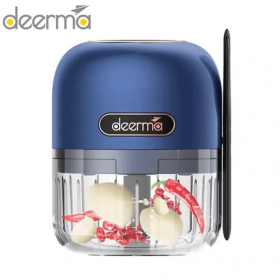 مفرمة طعام كهربائية    Deerma - Mini Garlic Stirrer Portable Electric