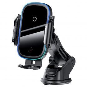 شاحن لاسلكي وحامل السيارة Baseus Light Electric Holder Wireless Charger(15W)