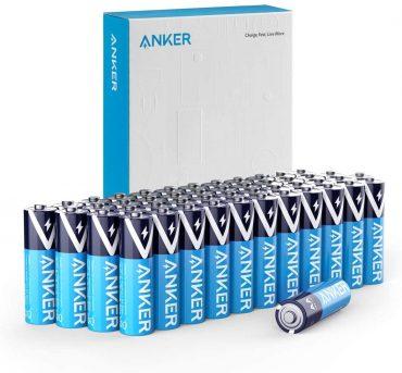 بطاريات Anker Alkaline AA Batteries