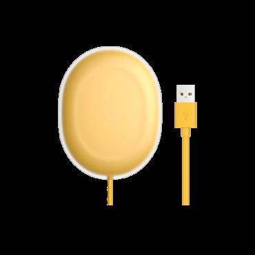 شاحن لاسلكي Baseus Jelly wireless charger 15W – أصفر