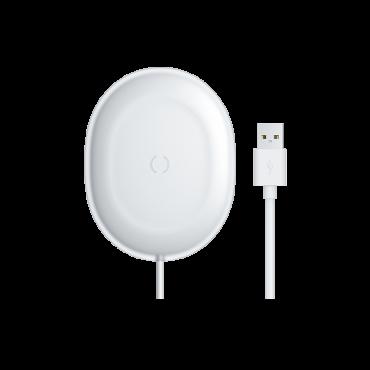 شاحن لاسلكي Baseus Jelly wireless charger 15W– أبيض