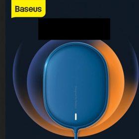 شاحن لاسلكي مغناطيسي Baseus Light Magnetic Wireless Charger أزرق