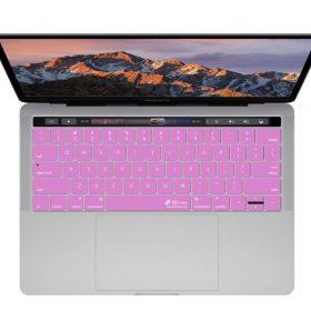 كفر لوحة مفاتيح KB Covers - Keyboard Cover for MacBook Pro - 13 / 15 بوصة - زهري