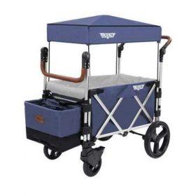 عربة أطفال قابلة للطي Keenz 7S Premium Deluxe Foldable Wagon-Stroller - أزرق