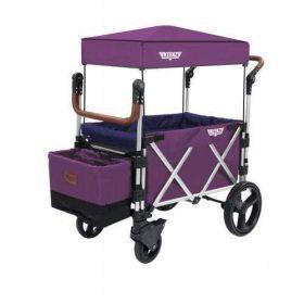 عربة أطفال قابلة للطي Keenz 7S Premium Deluxe Foldable Wagon-Stroller - بنفسجي