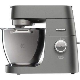 ماكينة مطبخ kenwood ، مصنوعة من التيتانيوم ، ذات حجم كبير متعددة الأغراض ، 1700 واط ، السعة 6