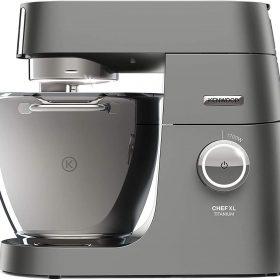 ماكينة مطبخ kenwood ، مصنوعة من التيتانيوم ،  متعددة الأغراض ، 1700 واط ، وعاء خلط كبير سعة 6