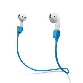 حزام سماعة KeyBudz - PodStrapz - Strap for Airpods Generation 1 and 2 - أزرق