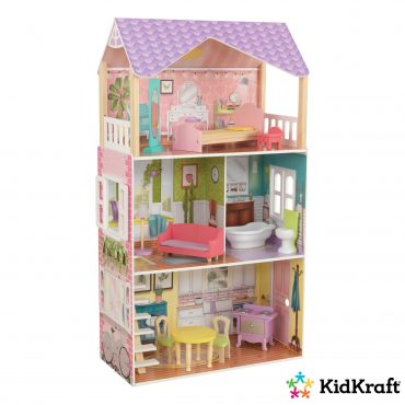لعبة بيت الدمى KidKraft - Poppy Dollhouse